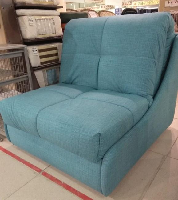 Кресло-кровать на металлокаркасе со съёмным чехлом. Матрас ППУ.