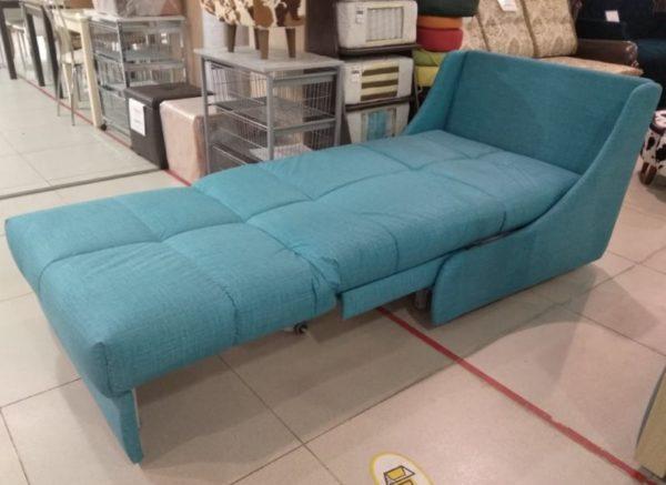 Кресло-кровать на металлокаркасе со съёмным чехлом