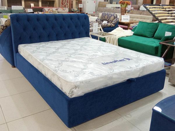 Двухспальная кровать с усиленным механизмом подъёма