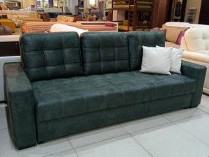 раскладной диван пантограф Лион - Арабеска зелёный