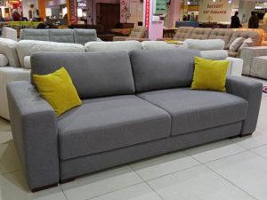 раскладной диван шагающая еврокнижка Наоми серый
