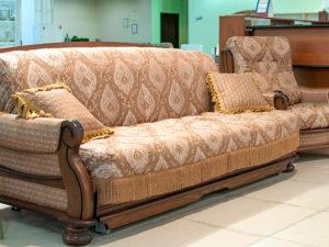 диван аккордеон с креслом