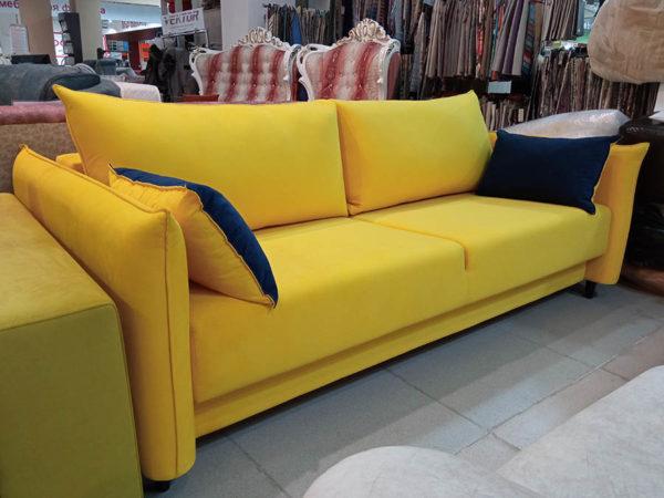 диван-кровать Токио жёлтый
