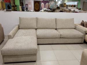 Модульный диван Milan рогожка бежевый